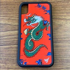 Wildflower Accessories Red Dragon Iphone Xr Phone Case Poshmark